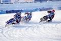 В Шадринске впервые прошёл ЛЧМ по мотогонкам на льду