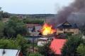 В Шадринске горел частный жилой дом