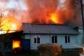 В Шадринске сгорели сразу два дома. Пострадал один человек