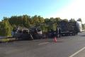 4 человека погибло в смертельном ДТП. 2 автомобиля сгорели