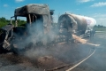 В страшном ДТП погибли 2 человека. Автомобили сгорели