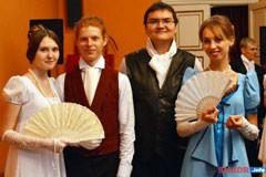 В Шадринске прошла реконструкция бала 19 века