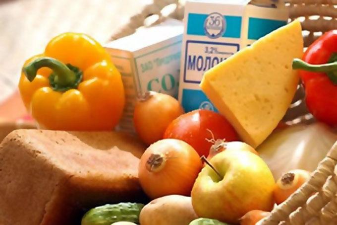 Цены на продукты питания в Зауралье ниже средних по округу