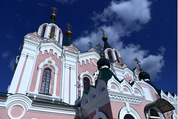 В Зауралье продолжают восстанавливать Свято-Успенский мужской Далматовский монастырь