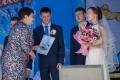Девять пар заключили свой брак в День города