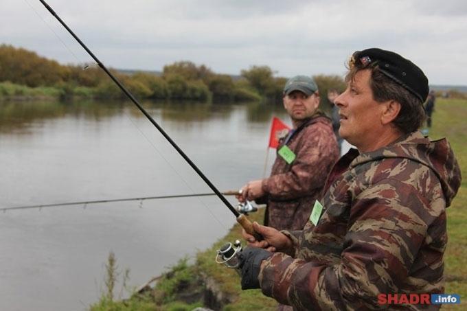 рыбалка на исети за шадринском