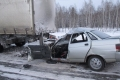 56-летний водитель погиб после столкновения с большегрузом