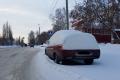 Шадринцев просят не мешать уборке снега