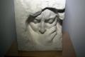 Скульптуры Шадра в свете фонарика