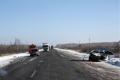 В результате столкновения большегруза и легкового автомобиля погибли два человека