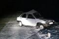 Пьяный водитель без прав въехал в ограждение на трассе