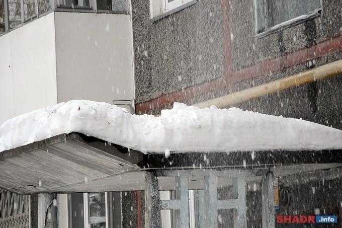 Инструкция при очистке от снега крыш