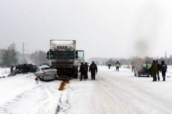 Стали известны подробности страшного ДТП в Мишкинском районе