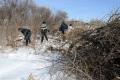 В Шадринске в рамках Года экологии приступили к генеральной уборке реки Исеть
