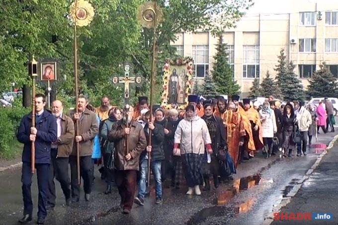 Крестный ход в Шадринске