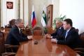 Алексей Кокорин встретился с заместителем руководителя Администрации Президента РФ