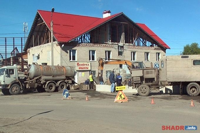 Водоснабжение в Шадринске восстановлено в полном объеме