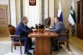 Алексей Кокорин провел рабочую встречу с Главой Шадринского района Владимиром Осокиным