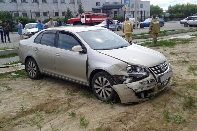 В Шадринске в ДТП пострадала 7-летняя девочка