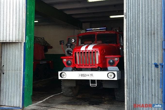 Количество пожаров в 9 районах Зауралья увеличилось