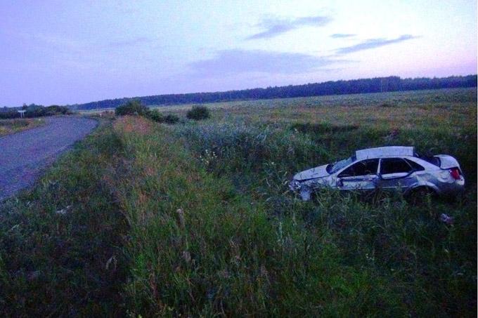 В Петуховском районе в ДТП погибла женщина. Еще 4 человека получили травмы