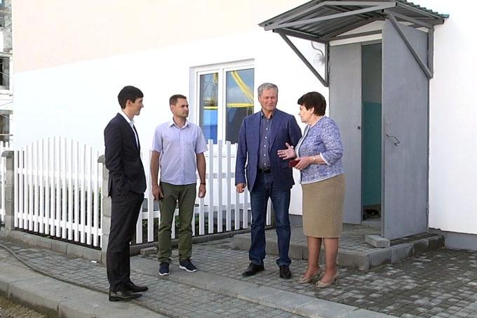 Губернатор оценил состояние дома для переселенцев из аварийного жилья в Шадринске