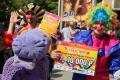 Гран-при парада колясок в третий раз получила семья Калмыковых