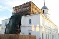Продолжается реставрация Свято-Николаевского храма в Шадринске