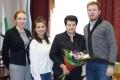 Глава города приняла поздравления с Днем учителя