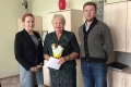Члены Общественной молодежной палаты поздравили Заслуженных учителей