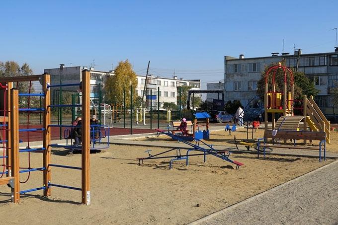 В области завершено благоустройство в 42 дворах и на 16 общественных территориях