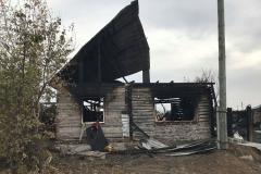 Подробности пожара в Петухово: матери удалось спасти 2-х детей