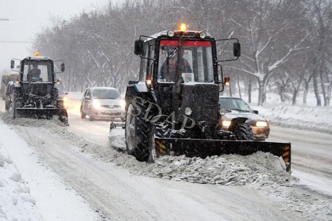 Движение транспорта по федеральным трассам в Курганской области разрешено
