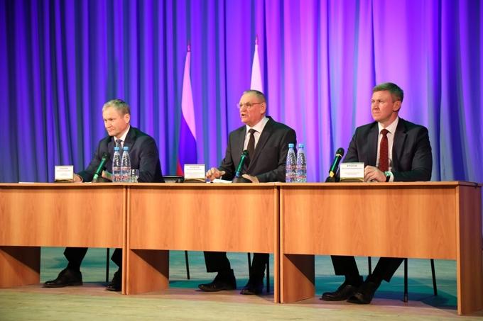 Алексей Кокорин поставил задачи главам муниципалитетов по дальнейшему развитию территорий