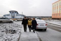 Глава города держит под контролем качество домов, возведенных по программе переселения