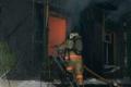 В селе Сухринское Шадринского района произошел пожар