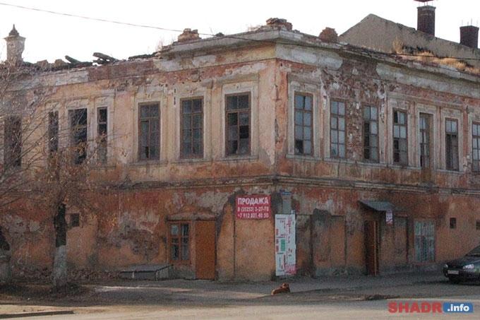 Ветхое состояние зданий в Шадринске приводит к частым пожарам