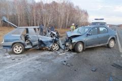 ДТП в Шадринском районе: пятеро пострадавших и один погибший