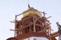 На Свято-Николаевской церкви в Шадринске установлен новый купол