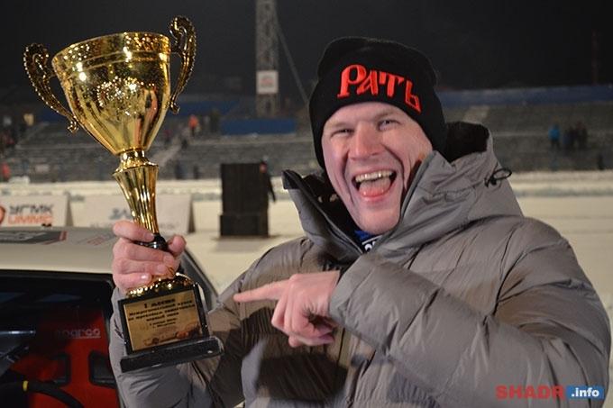 Победителем автогонок на льду стал Владимир Косарев