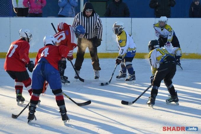 В Шадринске состоялся открытый чемпионат по хоккею среди детских команд