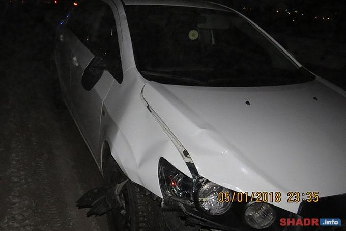 В Шадринском районе насмерть сбит пешеход