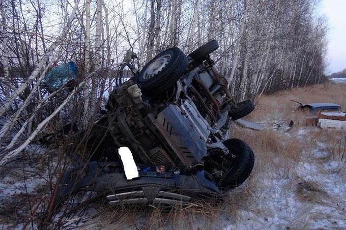 В Курганской области в ДТП погиб 71-летний водитель