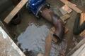 Работы на водозаборе продолжаются. Давление в сети понижено