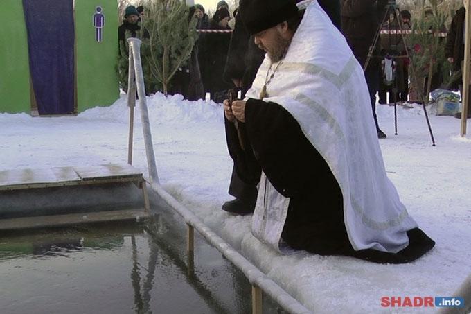 В Крещение в Шадринске будет организована одна санкционированная купель