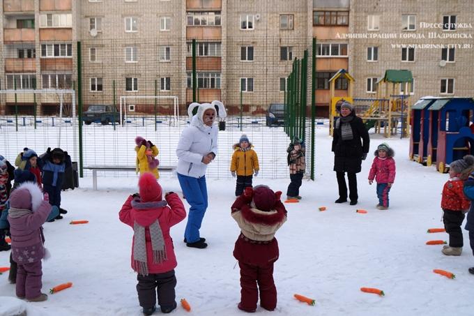 «Зимние забавы» для дошколят