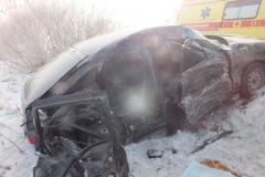 На территории областного центра в ДТП погибла женщина