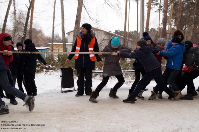 Шадринцы готовились к ГТО на фестивале «Выходи гулять»