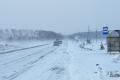 На Шадринск обрушился мокрый снег и штормовой ветер