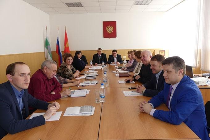 Обсудили дальнейшее развитие ТОСЭР - Далматово и Варгаши